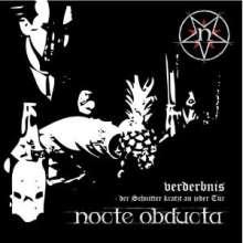 Nocte Obducta: Verderbnis, CD
