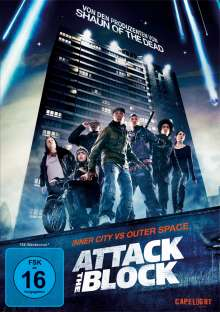 Attack The Block, DVD