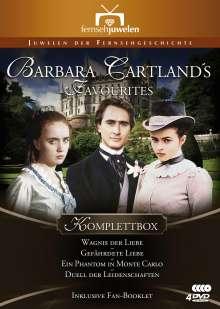 Barbara Cartland's Favourites Komplettbox, 4 DVDs
