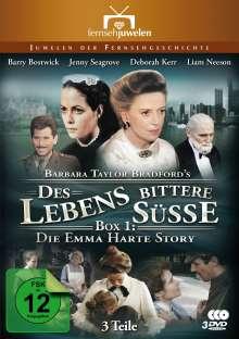 Des Lebens bittere Süße Box 1 - Der Aufstieg der Emma Harte, 3 DVDs