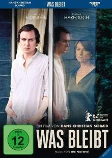 Was bleibt (Blu-ray), Blu-ray Disc