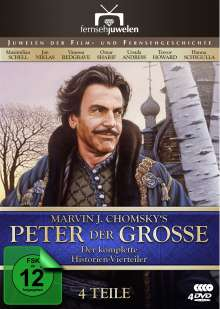 Peter der Grosse, 4 DVDs