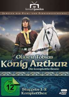 König Arthur - Komplettbox (Staffeln 1+2), 4 DVDs