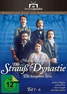 Die Strauß-Dynastie Teil 1-6, DVD