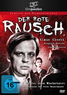 Edgar Wallace: Der rote Rausch, DVD