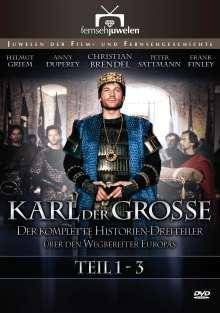 Karl der Große (Kompletter Historien-Dreiteiler), 2 DVDs