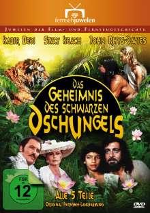 Das Geheimnis des schwarzen Dschungels, 2 DVDs