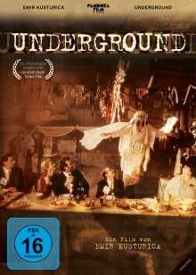 Underground (1995), DVD