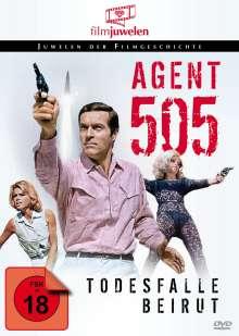 Agent 505 - Todesfalle Beirut, DVD