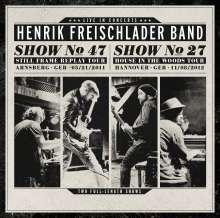Henrik Freischlader: Live In Concerts (Show No.47 & Show No.27), 4 CDs