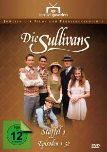 Die Sullivans Season 1, 7 DVDs