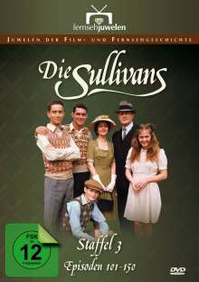 Die Sullivans Season 3, 7 DVDs