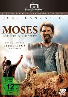 Moses: Die zehn Gebote (Das komplette Bibel-Epos in 6 Teilen), 3 DVDs