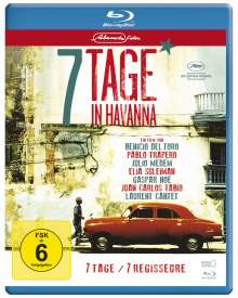 7 Tage in Havanna (Blu-ray), Blu-ray Disc