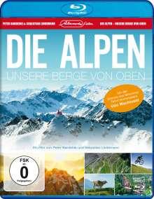 Die Alpen - Unsere Berge von oben (Blu-ray), Blu-ray Disc