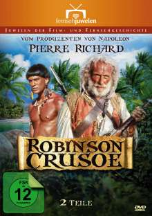 Robinson Crusoe (Kompletter Zweiteiler), 2 DVDs
