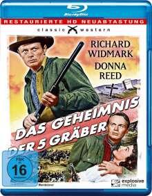 Das Geheimnis der fünf Gräber (Blu-ray), Blu-ray Disc