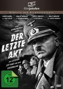 Der letzte Akt - Der Untergang Adolf Hitlers, DVD