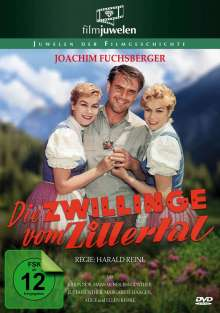 Die Zwillinge vom Zillertal, DVD