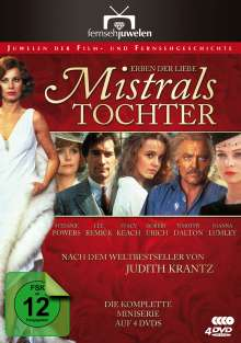 Erben der Liebe - Mistrals Tochter (Komplette Serie), 4 DVDs