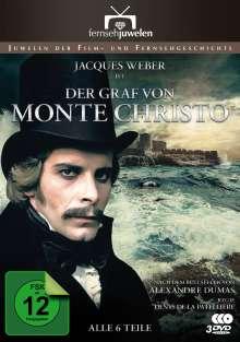 Der Graf von Monte Christo (1979), 3 DVDs