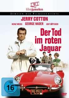 Jerry Cotton: Tod im roten Jaguar, DVD