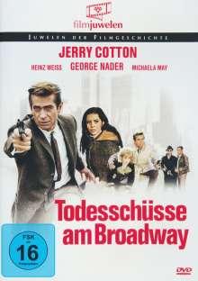 Jerry Cotton: Todesschüsse am Broadway, DVD