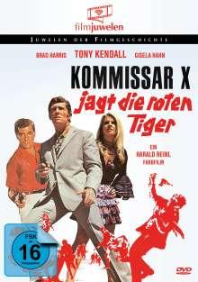 Kommissar X jagt die roten Tiger, DVD