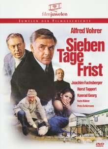 Sieben Tage Frist, DVD