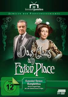 Das Haus am Eaton Place (Komplettbox - Extended Version), 21 DVDs