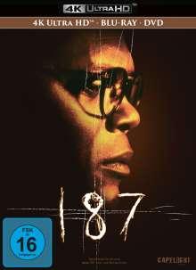 187 - Eine tödliche Zahl (Ultra HD-Blu-ray & Blu-ray & DVD im Mediabook), 3 Ultra HD Blu-rays