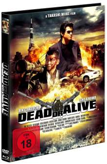 Dead or Alive (Blu-ray & DVD im Mediabook), Blu-ray Disc