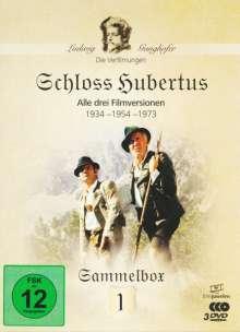 Die Ganghofer Verfilmungen Box 1: Schloss Hubertus, 3 DVDs