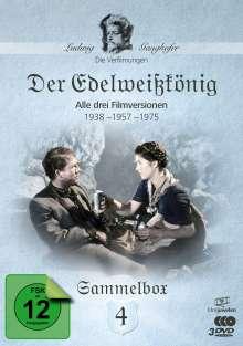 Die Ganghofer Verfilmungen Box 4: Der Edelweißkönig, 3 DVDs