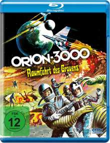 Orion 3000 - Raumfahrt des Grauens (Blu-ray), Blu-ray Disc