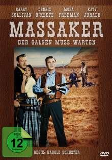 Der Galgen muss warten (Massaker), DVD