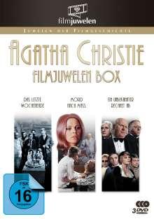 Agatha Christie Filmjuwelen Box, 3 DVDs