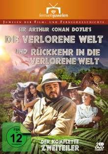 Die verlorene Welt / Rückkehr in die verlorene Welt, 2 DVDs