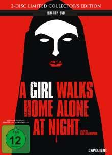 A Girl Walks Home Alone at Night (Blu-ray & DVD im Mediabook)