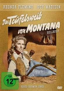 Das Teufelsweib von Montana, DVD