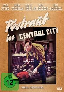 Postraub in Central City, DVD