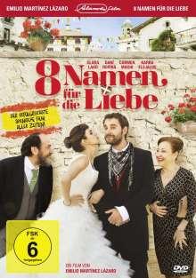 8 Namen für die Liebe, DVD