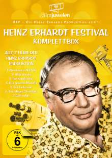 Heinz Erhardt Festival (Komplette Serie), 3 DVDs