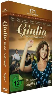 Giulia Staffel 1 - Kind der Leidenschaft, 2 DVDs