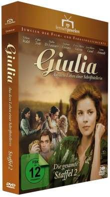 Giulia Staffel 2 - Aus dem Leben einer Schriftstellerin, 2 DVDs