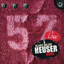 """Klaus """"Major"""" Heuser: 57 Live, 2 CDs"""