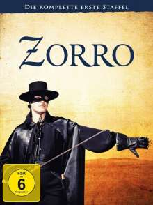 Zorro Season 1, 7 DVDs
