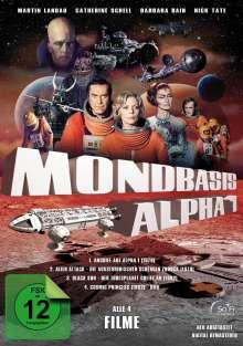 Mondbasis Alpha 1 - Die Spielfilme-Box, 4 DVDs