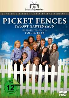 Picket Fences - Tatort Gartenzaun Staffel 4 (finale Staffel), 6 DVDs