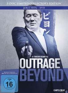 Outrage Beyond (Blu-ray & DVD im Mediabook), 2 Blu-ray Discs und 1 DVD